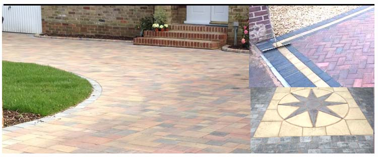 Block paving services for driveways, paths, patios, steps and gardens